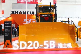 山推SD20-5B全新液力传动推土机高清美图