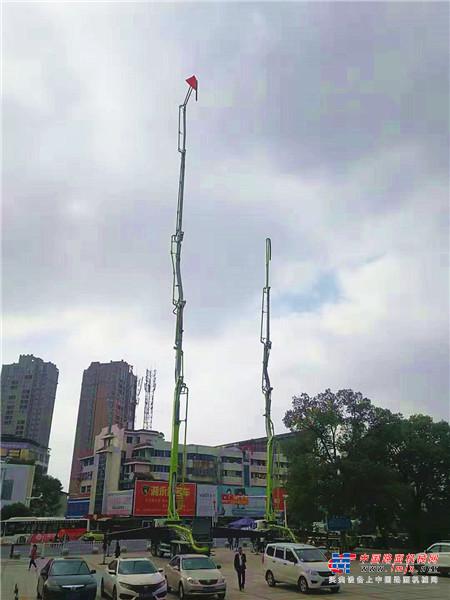 智慧砼筑,共建美丽中国 2019中联重科混凝土机械巡展走进古城永州