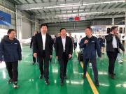 陈飞副省长调研山河科技