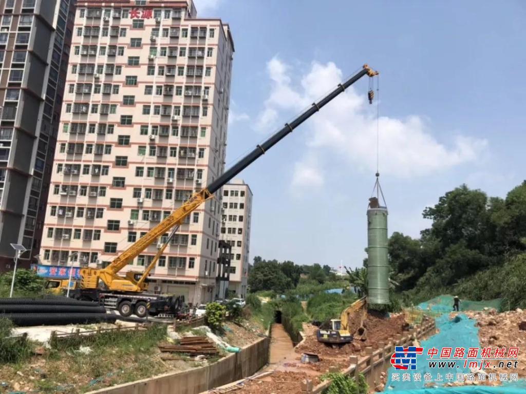 牵手徐工12年,什么车能让深圳这家吊装公司一等一年多?