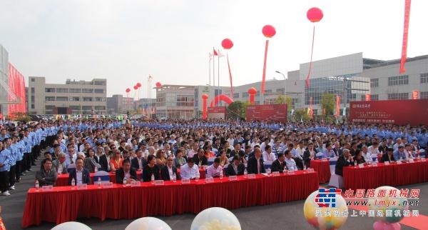 """为工程机械配置""""中国芯""""!赛克思液压(嘉兴基地)开业庆典盛大举行"""