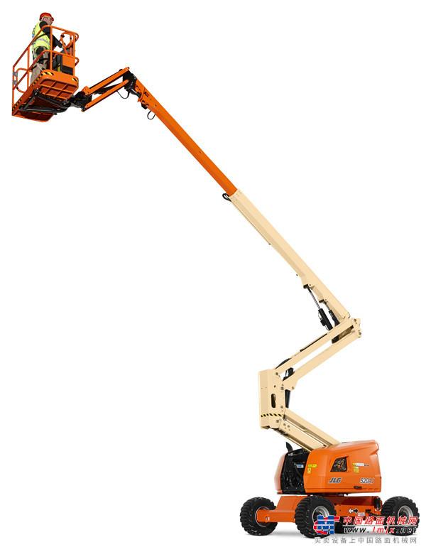 捷尔杰亚洲首台520AJ曲臂式高空作业平台交付众能联合