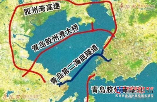 青岛胶州湾高速、高铁、海底隧道...最新交通规划
