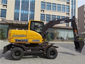 国内首创!劲工手自一体双驱动挖掘机JG85S