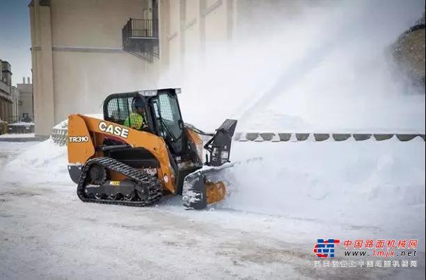 高速路清雪,凯斯准备好了!