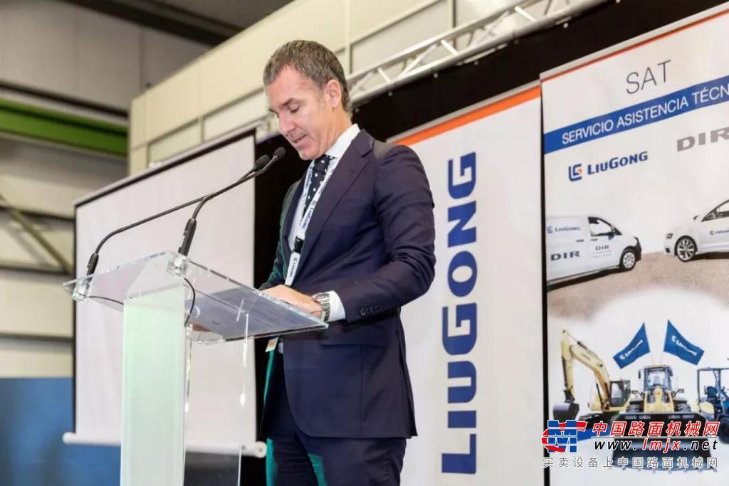 加碼歐洲 柳工西班牙經銷商DIR正式開業
