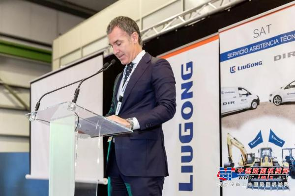 加码欧洲 柳工西班牙经销商DIR正式开业
