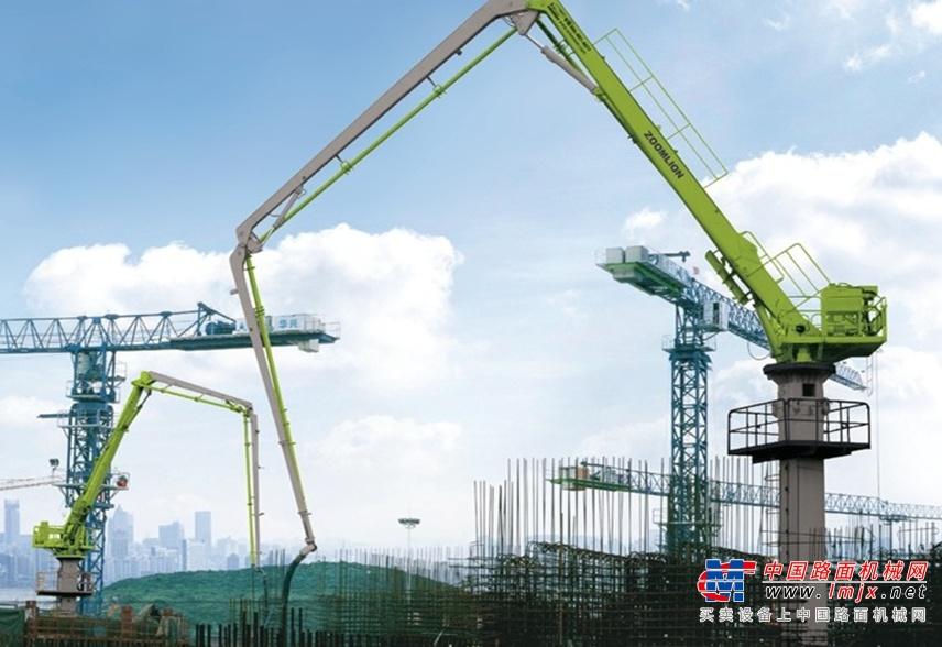 """中聯重科澳洲""""本地化""""36米混凝土布料機下線 獲海外市場歡迎"""