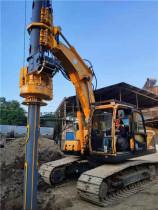 泰信机械模块式旋挖钻机畅销东南亚