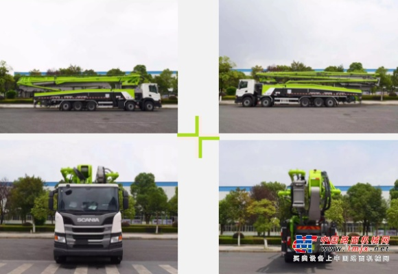 中联重科:新品发布 擎天系列斯堪尼亚5桥67米泵车