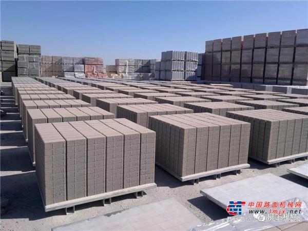 泉工策尼特固定式多層生產型磚機創新升級 備受客戶青睞