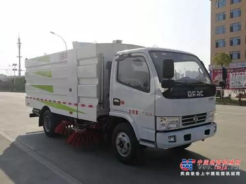 楚胜牌CSC5075TSL6型扫路车免购车附加费车型
