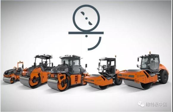 悍马 HD 系列双钢轮压路机振荡技术动画演示