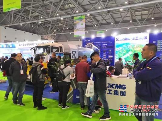 徐工环境卫士精彩亮相中国环境卫生国际博览会