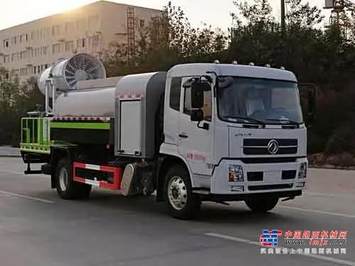 国六东风天锦抑尘车免购车附加税车型