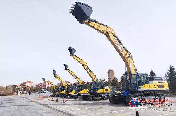 矿世传奇!徐工XE490HB节能挖掘机耀世而生!