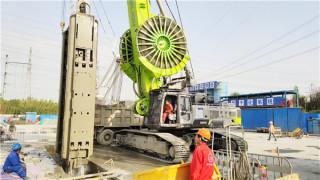 中联重科ZDG650地下连续墙液压抓斗上海施工告捷