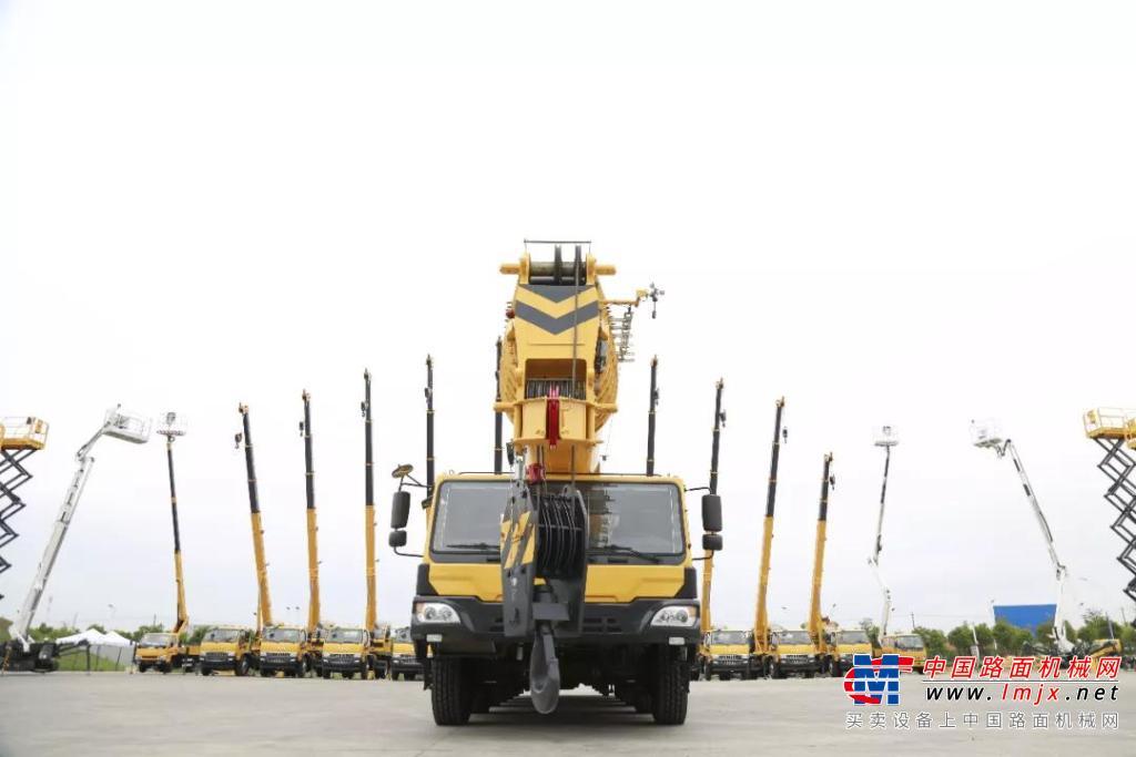 吊车吊吊车,这不是绕口令,而是柳工起重机的实力秀场!