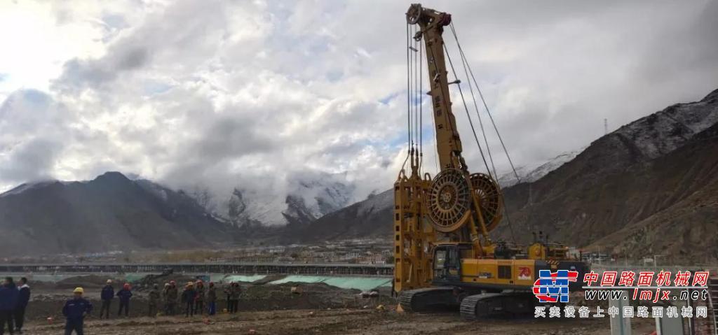 徐工地下連續墻抓斗進駐西藏大工程