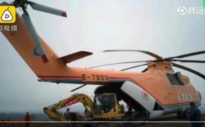 巨无霸直升机空运亚搏直播平台app进山施工
