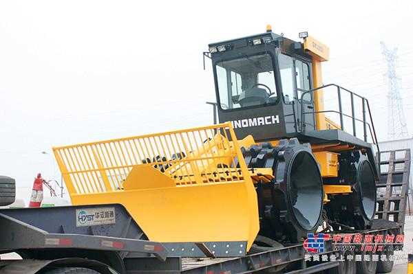 国机洛建垃圾压实机助力三晋大地蓝天碧水工程