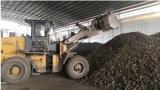 龙工LG833N高卸王轮式装载机冶炼场作业视频