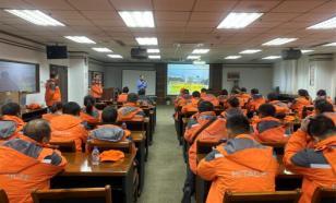 """""""橙色之旅""""日立建机(上海)有限公司重要客户参观合肥工厂"""