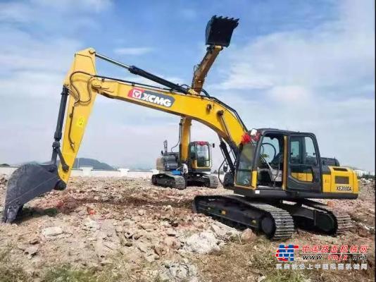 """""""地下城""""建设不在话下,徐工挖机和用户一起助力杭州发展!"""