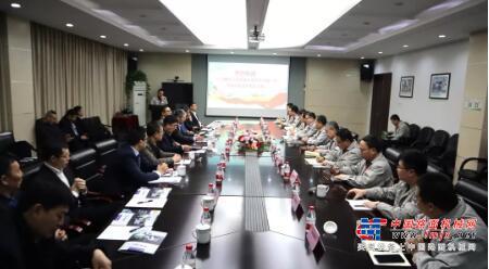 一汽解放公司董事长胡汉杰一行莅临中集凌宇洽谈合作