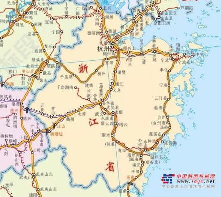 浙江2020年鐵路建設目標出爐,開工6條鐵路,推進5條鐵路前期工作