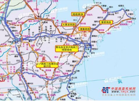 青岛这些铁路将开工 至上海、合肥增时速350高铁