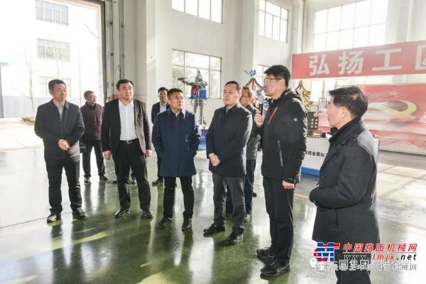 烟台市委副书记吴承丙一行领导来方圆集团看望一线职工