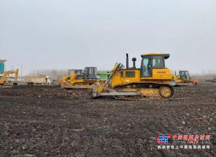 山推一体化设备紧急驰援济宁市公共卫生应急服务中心建设