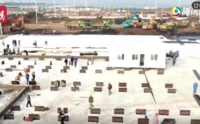 100秒揭秘小汤山医院奇迹:7千多工人8天建成