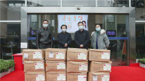 中联重科捐赠5万余只医用口罩 助力长沙高新区防疫防控