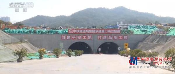 福建浙江等地大工程项目复工 厦门海沧隧道预计年底全线建成通车