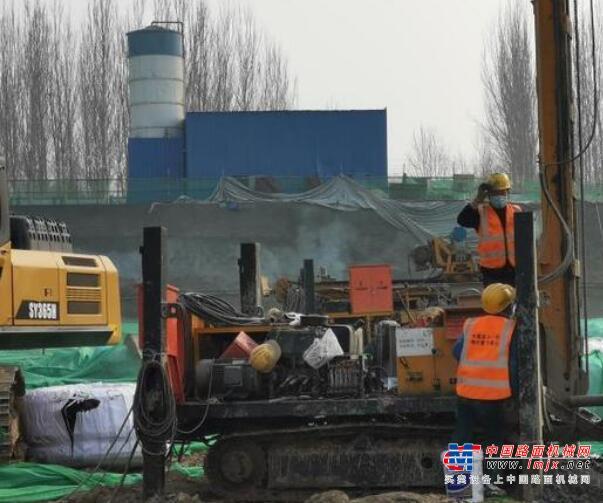 延庆综合交通服务中心项目复工