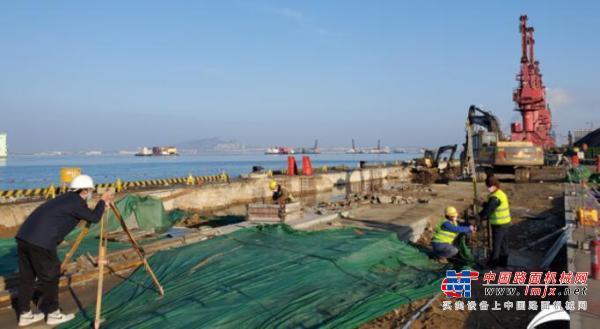 山东港口日照港东煤南移等4个工程项目有序复工