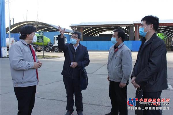 洛阳市总工会莅临中集凌宇调研指导复工复产工作
