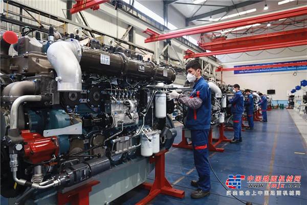 工程机械行业复工潮追踪报道之二:配套件企业开足马力 全力保生产