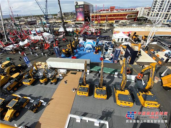 大器担当 徐工携24款精品盛装亮相2020美国拉斯维加斯国际工程机械展