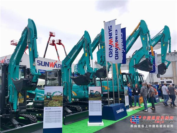 """展""""中国制造""""风采  山河绿闪耀2020美国拉斯维加斯国际工程机械展"""