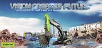 直击拉展 | 中联重科无人驾驶挖掘机,智能无人化施工解决方案先行者!