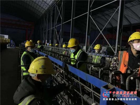 岳首筑机混凝土搅拌站助力青兰高速莱芜至泰安段改扩建工程有序复工