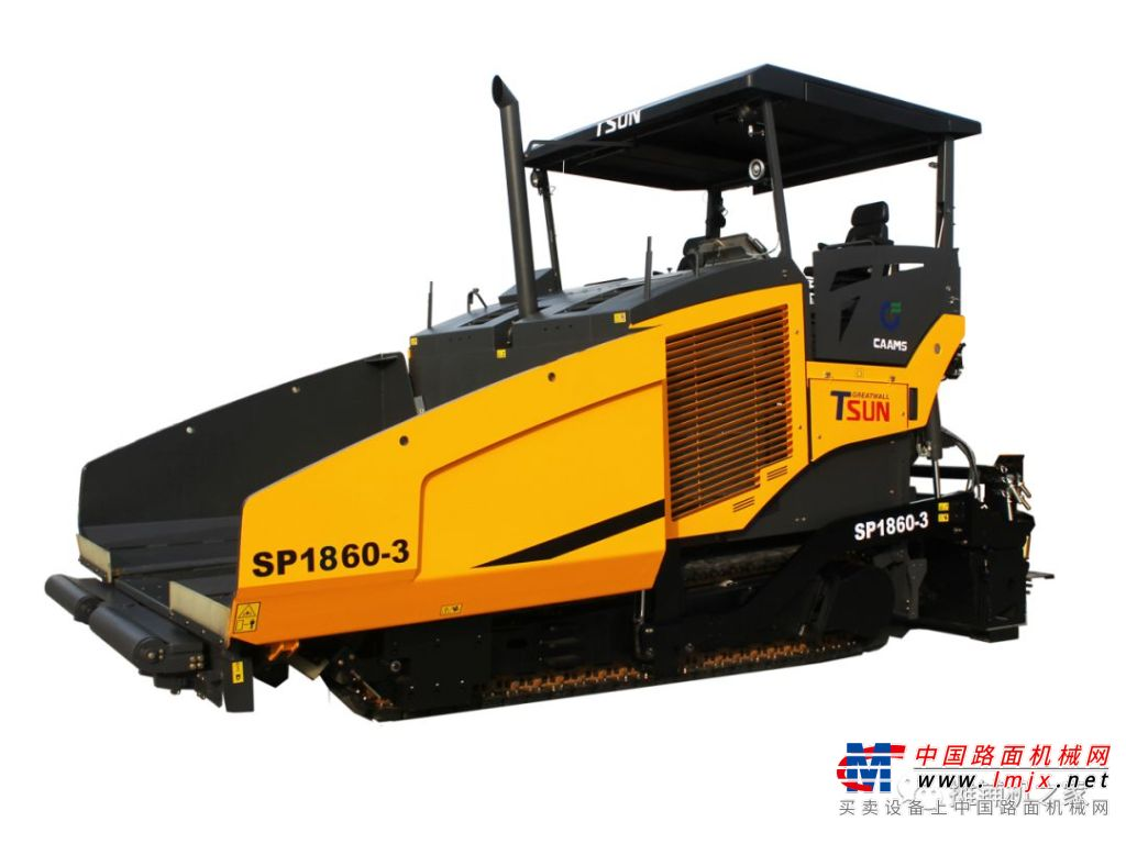 天顺长城2020新品展示—SP1860-3摊铺机