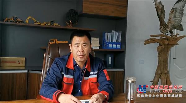扎鲁特旗分公司李永强:品质好服务优 玉柴是我值得终生信赖的品牌