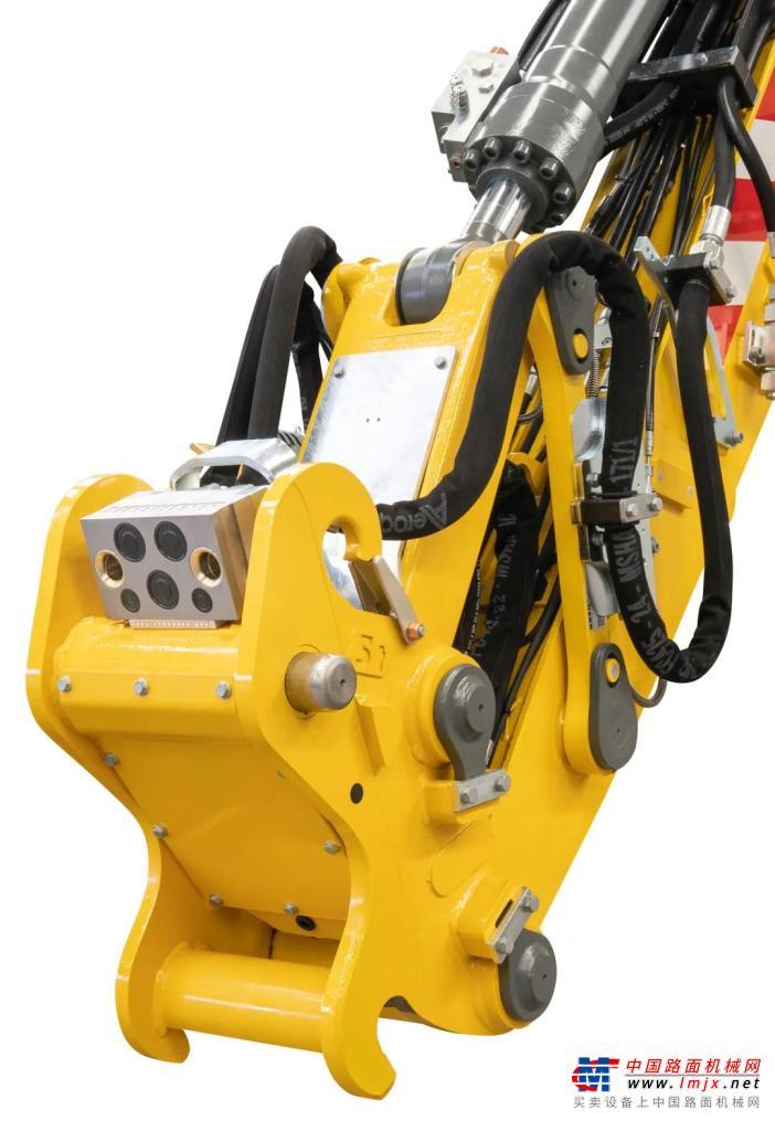 利勃海尔A 922 Litronic铁路挖掘机在Conexpo Con/Agg 2020建筑设备展览会上