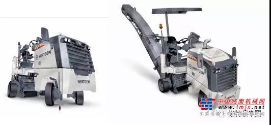 灵活高效的多面手:维特根 W 50 H 和 W 55 H 半米档铣刨机