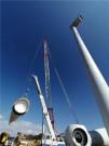 """中联重科助力西南首台最大单机风机成功吊装 创国内超100米""""分体吊装""""先河"""