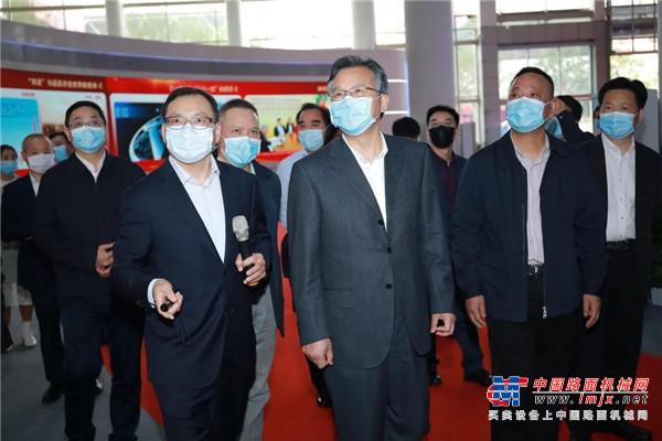省委常委李殿勋:期待三一打造全球工程机械产业生态